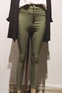 Pantalon Chupin con franja -