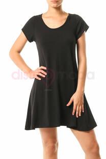Vestido Básico Modal Corto L al 2XL -