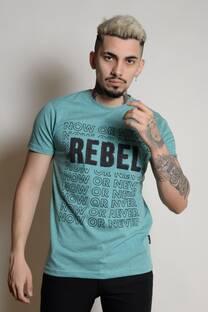 BORDADO REBEL REMERAS  -