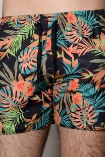 SHORTS DE BAÑO-MALLAS ESTAMPADO HAWAIAN  -