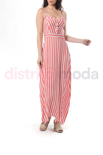 Vestido Fibrana Rayas -