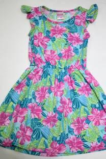 Vestido nena estampado -