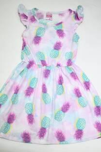 Vestido estampado nena. -