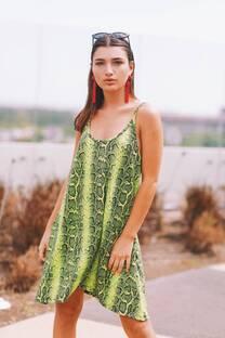 Vestido reptil KORIA -