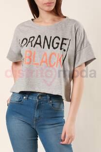 "Remera Murciélago ""Orange"" -"