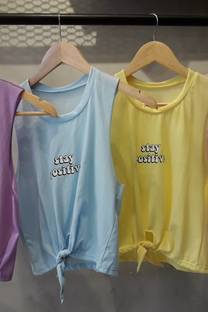 Musculosa STAY POSITIVE -