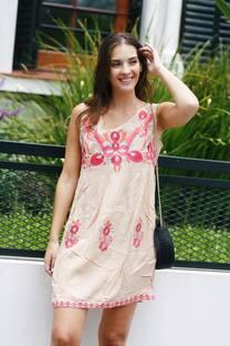 Vestido bordado FALENIA  -