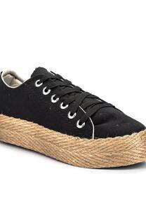 Zapatilla Yute Summer negro -