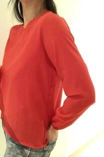 blusa frente doble -