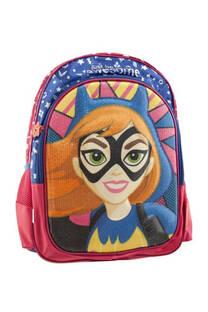 """<a href=""""/productosimple/ca-2339/mochila-dc-super-hero-girls-dise%C3%B1o-batgirl-impermeable-reforzado-y-resistente"""">Mochila DC Super hero girls diseño """"Batgirl"""" impermeable reforzado y resistente, detalles con lentejuelas, bolsillo frontal de amplio tamaño, laterales en red y tiras regulables.</a> -"""