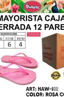 MAYORISTA 600 ROSA CORAL -