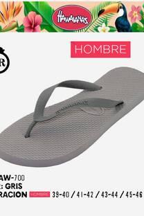 HAW 700 GRIS HOMBRE -