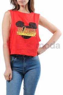 Musculosa Corta Mickey -