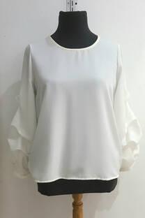 i6738 blusa pliegues -