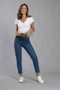 Pantalon Jeans Mom Fit Clasico -