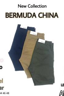 Bermuda CHINA Gabardina -