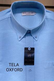 CAMISA JEAN CARTIER TELA OXFORD, M/ LARGA C/ BOLSILLO -