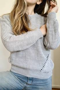 SWEATER LUCCI GRIS  -