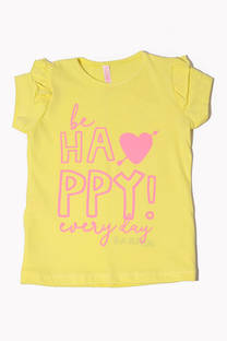 """Remera Harper """"Be happy every day"""" -"""