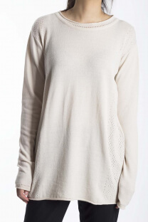 SWEATER CALADO LATERAL