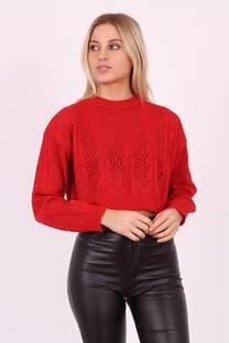 Sweater Calado Rombos MOSCU -