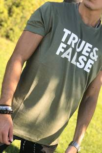 Remera básicas True y False -