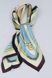 Pañuelo de seda 70x70 LA -
