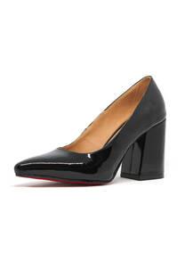 Zapato con taco ancho  -