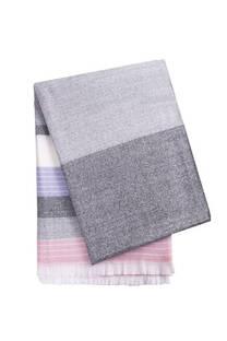 Manta de lana premium frisada desflecada. MEDIDAS: 150 cm x 200 cm -
