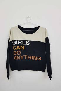 Sweater (girls can do,,) -