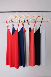 Vestido slip -