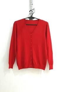 sn004 sweater cardigan 9 botones en v.excelente calidad -