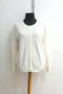 sn005 sweater cardigan bolitas.excelente calidad -