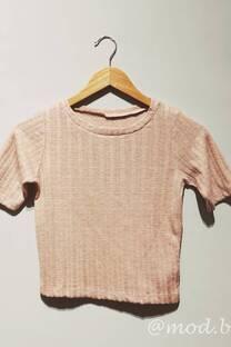 Sweater Angora al cuerpo -