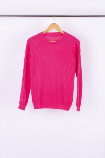 Sweater cordón manga -