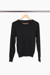 Sweater básico escote V