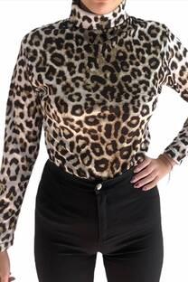 Poleras Leopardo -