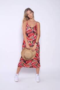 Vestido Fibrana Tropical -
