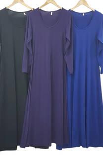 Vestido Largo de Modal -