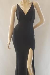 Vestido Sirena escotadoLurex -