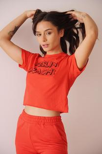 Remera FEELIN PEACHY -
