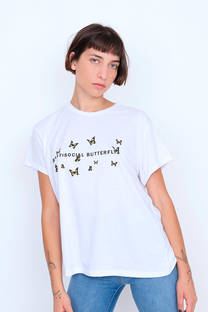 Remera Antisocial Butterfly -