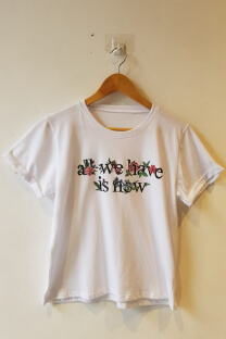 ALL WE HAVE IS NOW -