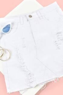 Mini Jean Blanca -
