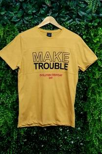 ESTAMPADO MAKE TROUBLE REMERAS  -