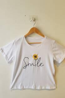 REMERA SMILE  -