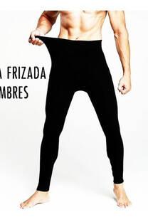 calza termica frizada de hombre -