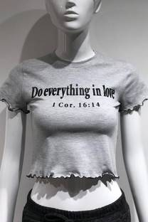 """Remera """"Do everything in love"""" -"""