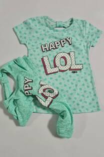 Remera happy lol nena -