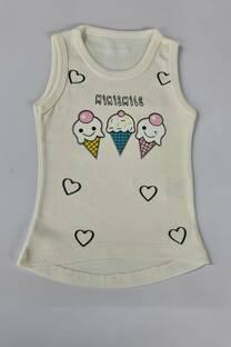 Musculosa algodon helados beba -